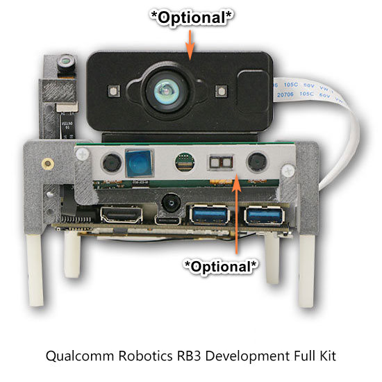 Qualcomm® Robotics RB3 Platform (SDA845) - Development Kits
